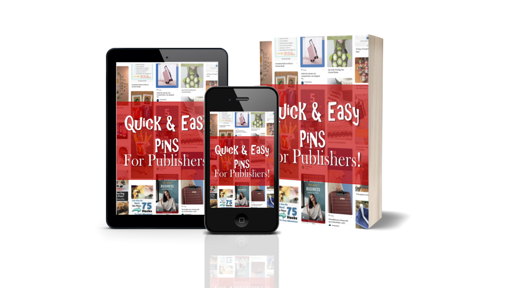 Quick and Easy Pins for Publishers Video Course for Low Content Publishing