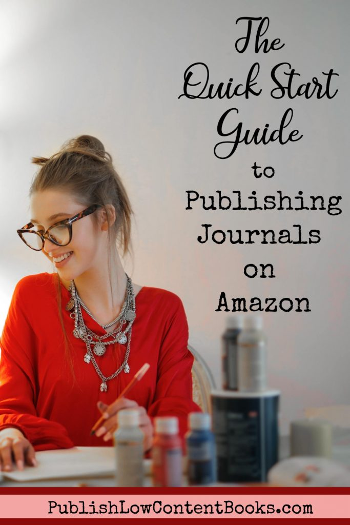 Get started publishing journals, notebooks, and workbooks on Amazon - a very simple side hustle!