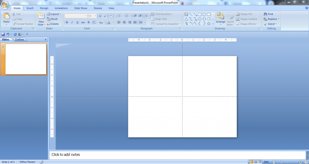Create low-content books with PowerPoint