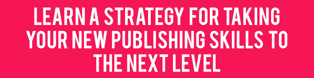 Learn to self-publish journals with the next level of training!