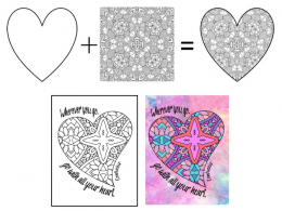 Creating Coloring and Activity Books with Done-For-You Heart Coloring Pages for Journal Publishing