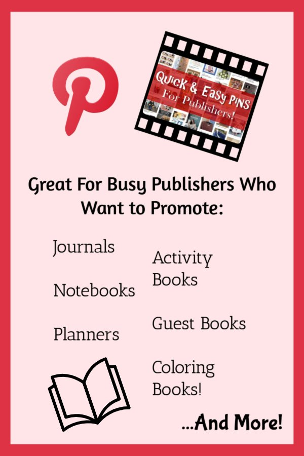 Quick and Easy Pins for Publishers - pinnable list