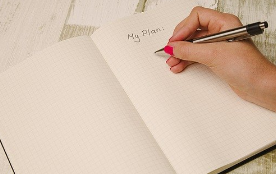 Plan out your fitness game planner interior