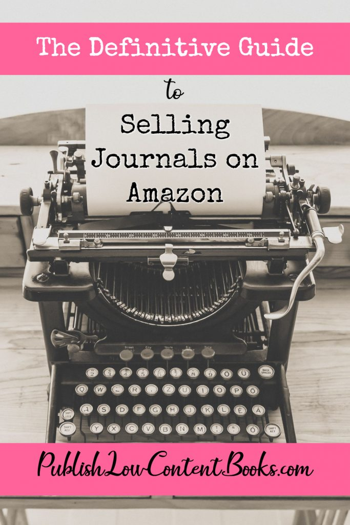 Selling Journals on Amazon
