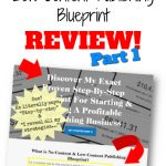 No-Content and Low-Content Publishing Blueprint Review Part 1