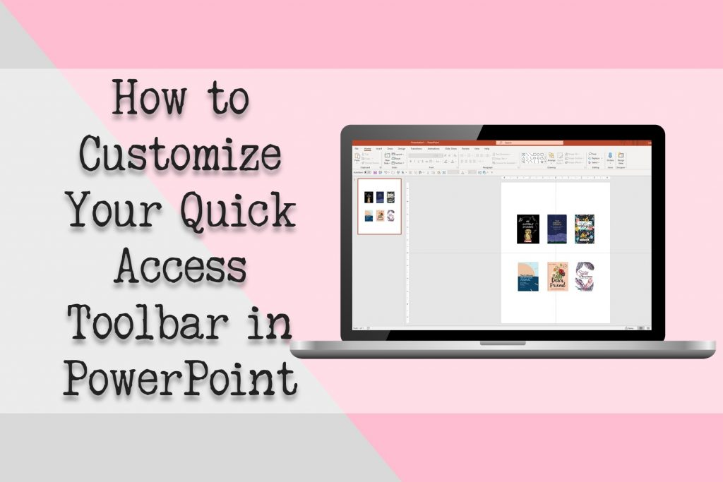 Customize Quick Access Toolbar in PowerPoint