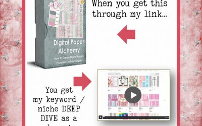 Create Digital Scrapbook Paper – Great for Low ContenT Books and More