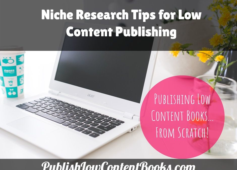 Niche Research Tips for Low Content Publishing