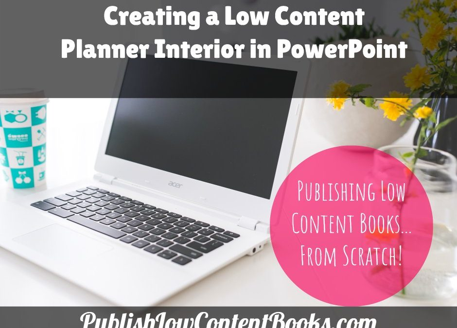 Creating a Low Content Planner Interior in PowerPoint