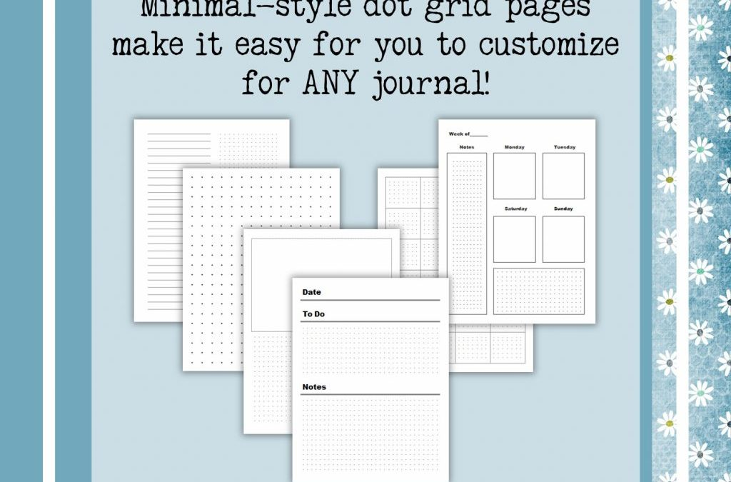 Bullet Journal Templates you can use for Paperbacks and Printables